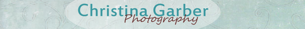 Christina Garber Photography: logo